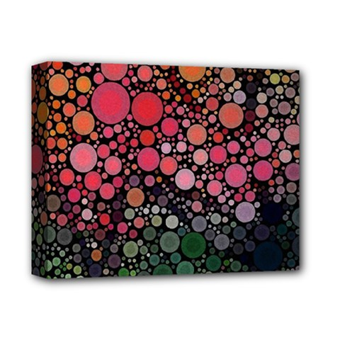 Circle Abstract Deluxe Canvas 14  X 11
