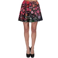 Circle Abstract Skater Skirt