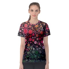 Circle Abstract Women s Sport Mesh Tee