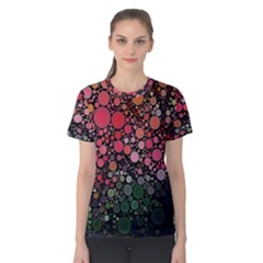 Circle Abstract Women s Cotton Tee