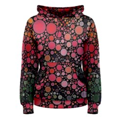 Circle Abstract Women s Pullover Hoodie
