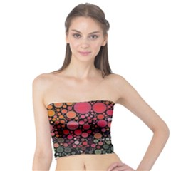 Circle Abstract Tube Top