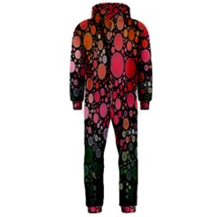 Circle Abstract Hooded Jumpsuit (Men)