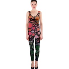 Circle Abstract Onepiece Catsuit