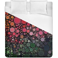 Circle Abstract Duvet Cover (california King Size)