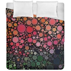 Circle Abstract Duvet Cover Double Side (california King Size)