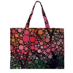 Circle Abstract Large Tote Bag