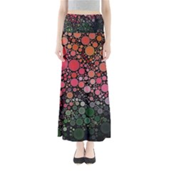 Circle Abstract Maxi Skirts