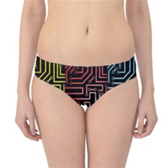 Circuit Board Seamless Patterns Set Hipster Bikini Bottoms