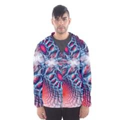 Creative Abstract Hooded Wind Breaker (Men)