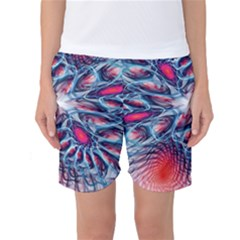 Creative Abstract Women s Basketball Shorts