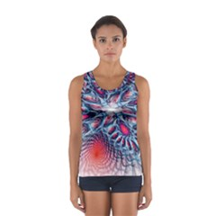 Creative Abstract Women s Sport Tank Top
