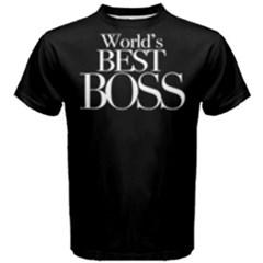 World s Best Boss   Men s Cotton Tee