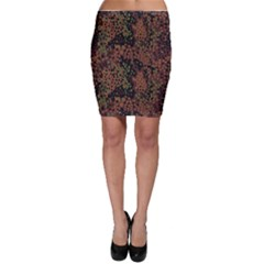 Digital Camouflage Bodycon Skirt