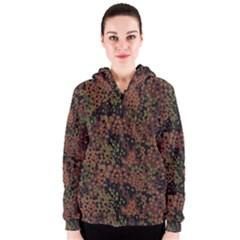 Digital Camouflage Women s Zipper Hoodie
