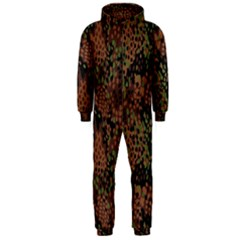 Digital Camouflage Hooded Jumpsuit (Men)