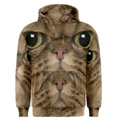 Cute Persian Cat Face In Closeup Men s Pullover Hoodie