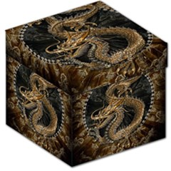 Dragon Pentagram Storage Stool 12
