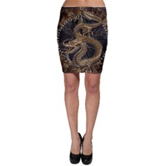 Dragon Pentagram Bodycon Skirt