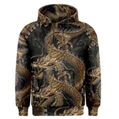 Dragon Pentagram Men s Pullover Hoodie