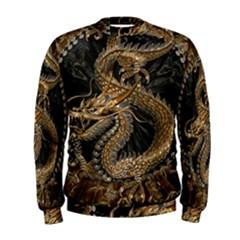 Dragon Pentagram Men s Sweatshirt