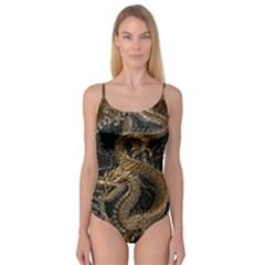 Dragon Pentagram Camisole Leotard