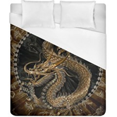 Dragon Pentagram Duvet Cover (california King Size)