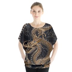 Dragon Pentagram Blouse