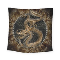 Dragon Pentagram Square Tapestry (small)