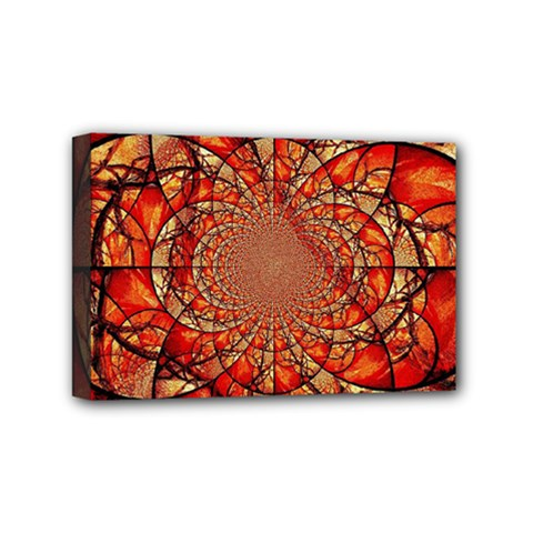 Dreamcatcher Stained Glass Mini Canvas 6  X 4