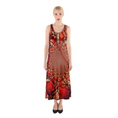 Dreamcatcher Stained Glass Sleeveless Maxi Dress