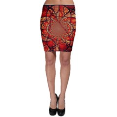 Dreamcatcher Stained Glass Bodycon Skirt
