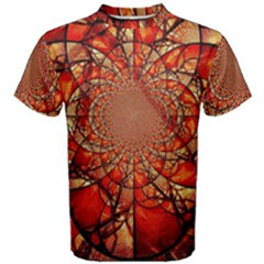 Dreamcatcher Stained Glass Men s Cotton Tee