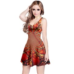 Dreamcatcher Stained Glass Reversible Sleeveless Dress
