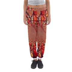 Dreamcatcher Stained Glass Women s Jogger Sweatpants