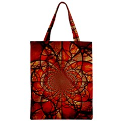Dreamcatcher Stained Glass Zipper Classic Tote Bag