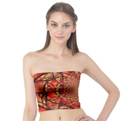 Dreamcatcher Stained Glass Tube Top
