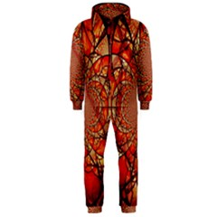 Dreamcatcher Stained Glass Hooded Jumpsuit (men)