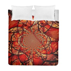Dreamcatcher Stained Glass Duvet Cover Double Side (full/ Double Size)