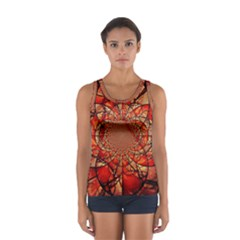 Dreamcatcher Stained Glass Women s Sport Tank Top