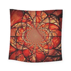 Dreamcatcher Stained Glass Square Tapestry (small)