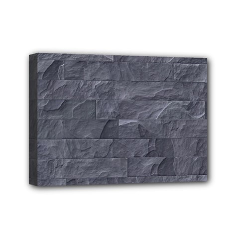 Excellent Seamless Slate Stone Floor Texture Mini Canvas 7  x 5
