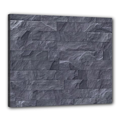 Excellent Seamless Slate Stone Floor Texture Canvas 24  X 20