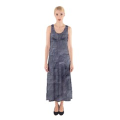 Excellent Seamless Slate Stone Floor Texture Sleeveless Maxi Dress
