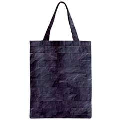 Excellent Seamless Slate Stone Floor Texture Zipper Classic Tote Bag
