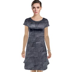 Excellent Seamless Slate Stone Floor Texture Cap Sleeve Nightdress