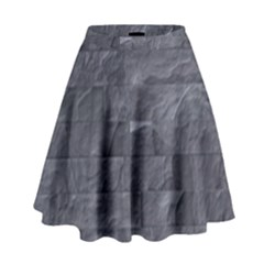Excellent Seamless Slate Stone Floor Texture High Waist Skirt