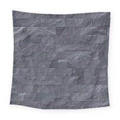 Excellent Seamless Slate Stone Floor Texture Square Tapestry (large)