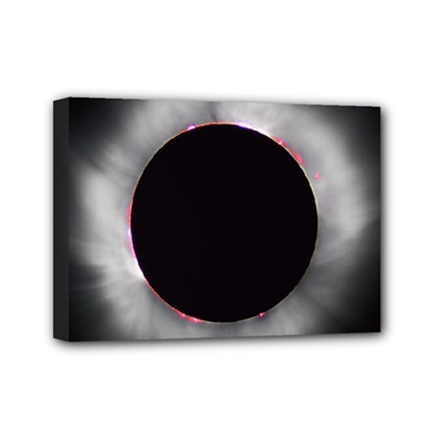 Solar Eclipse Mini Canvas 7  x 5