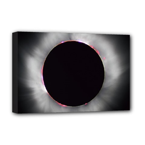 Solar Eclipse Deluxe Canvas 18  X 12